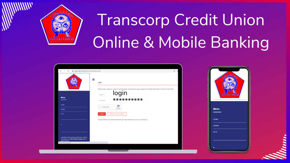 Transcorp Credit Union Mobile Banking Registration
