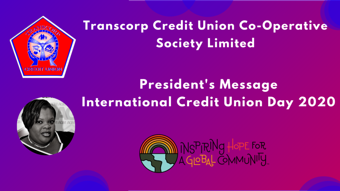 President's Messages on International Credit Union Day 2020